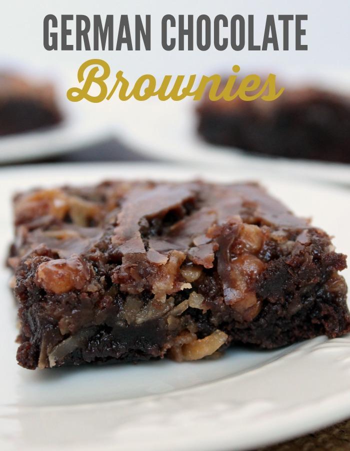 German Chocolate Brownies | Best Brownie Recipe |