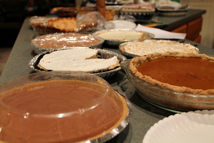 pies Thanksgiving 2015