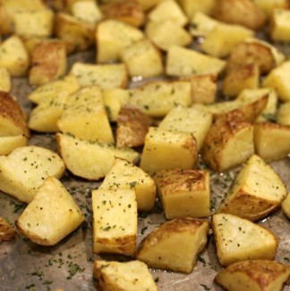 Roasted Golden Butter Potatoes