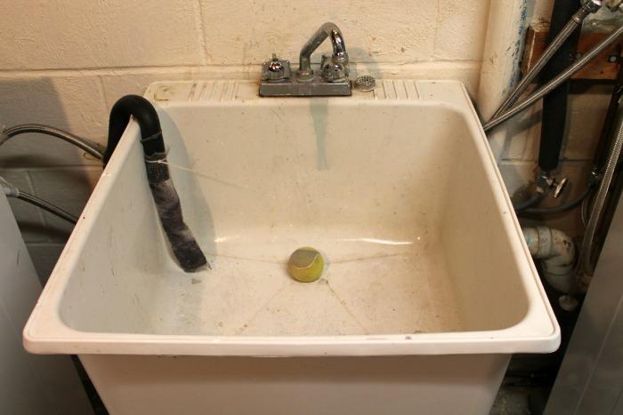 dec 10-15 tennis ball in sink