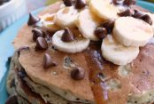 Diner-Style-Banana-Chocolate-Chip-Pancakes