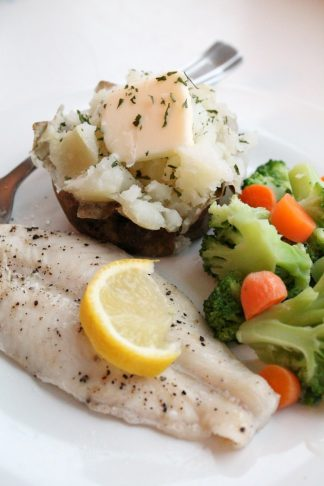 Easy Baked Lemon Pepper Tilapia