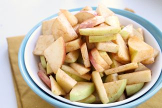 Cinnamon Sugar Apple Salad