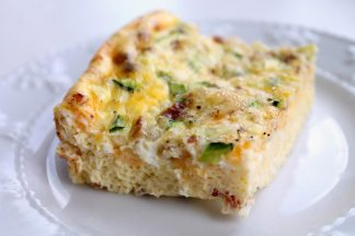 Crustless Quiche Egg Casserole
