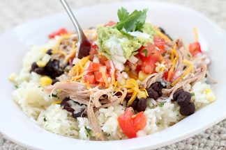 Easy Tex-Mex Shredded Pork