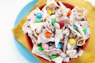 White Chocolate Bugle Pretzel Mix