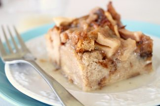 Caramel Apple Baked French Toast