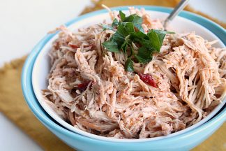 Slow Cooker Chipolte Shredded Chicken