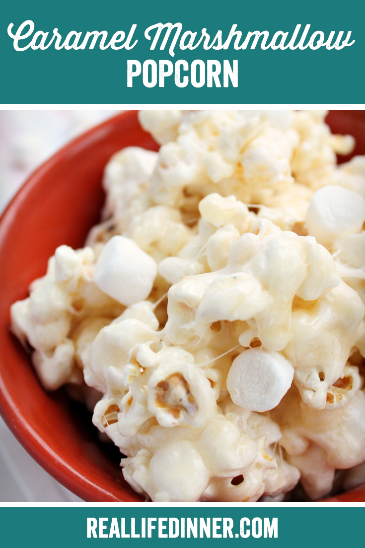 Caramel Marshmallow Popcorn