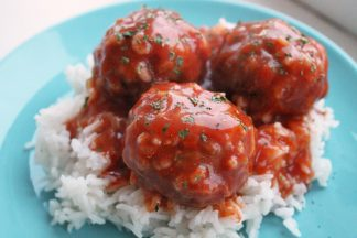 Classic Porcupine Meatballs