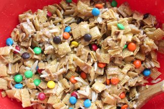 Best Ever Chewy Chex Mix