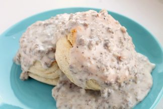 Down Home Biscuits and Gravy