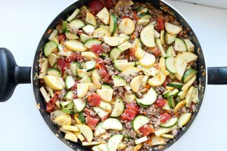 Million Dollar Zucchini Skillet
