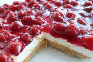 No-Bake Cherry Cheesecake {9×13 size}