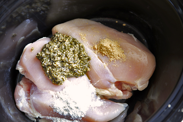 Slow-Cooker-Pesto-Ranch-Chicken