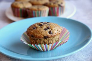 Zucchini-Chocolate-Chip-Muffins