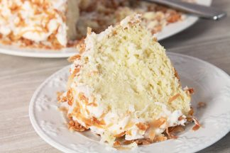 Dreamy Toasted Coconut Bundt Cake