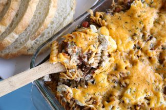 Easy Lasagna Casserole