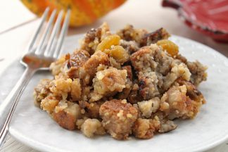 Sausage and Apple Cornbread Stuffing