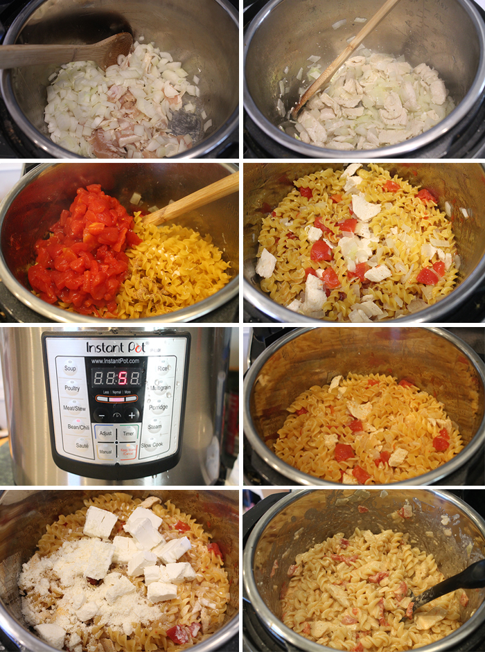Instant-Pot-Creamy-Cajun-Chicken-Pasta-Steps