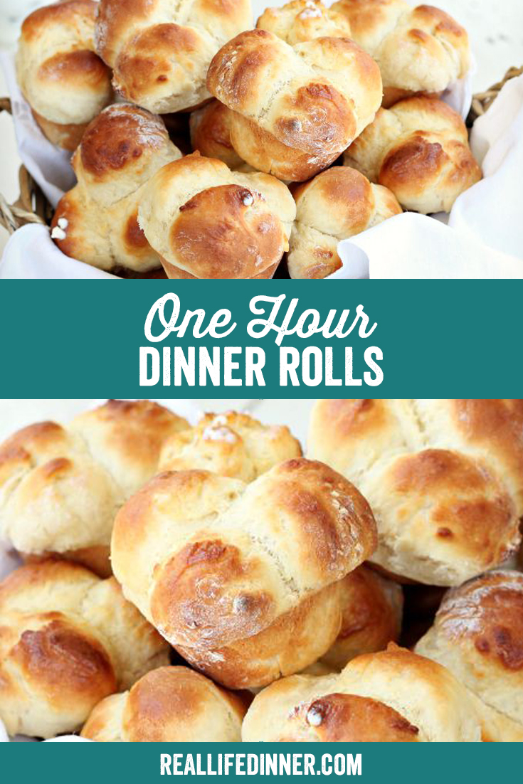 Pinterest photo collage with the text of the title of the recipe in the middle of the collage.